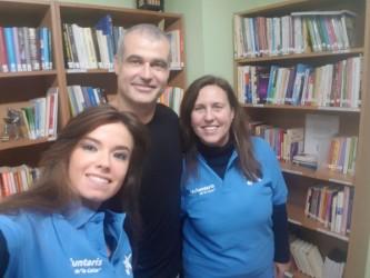 Gracias al voluntariado 2017 de los trabajadores de » La Caixa «